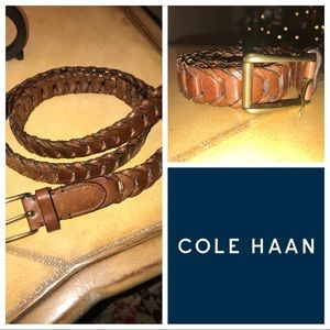 Cole Hann Leather Belt